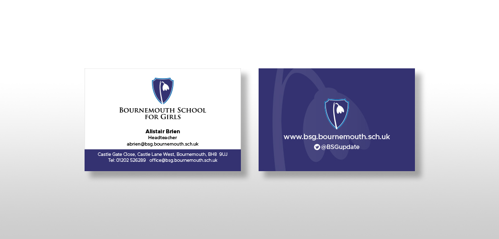 Bournemouth School for Girls • Arthouse Graphic Design Bournemouth